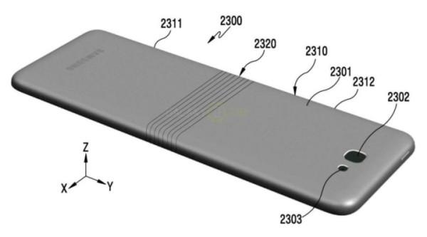 三星可折叠手机Galaxy X外观设计图首曝