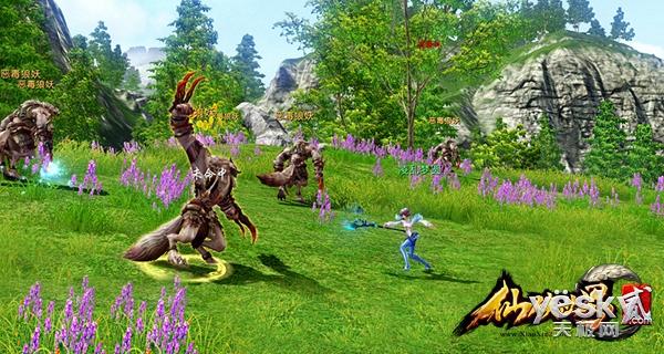 《仙侠世界2》评测:御风飞行尽览游戏场景