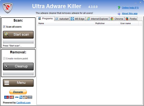 Ultra Adware Killer截图1