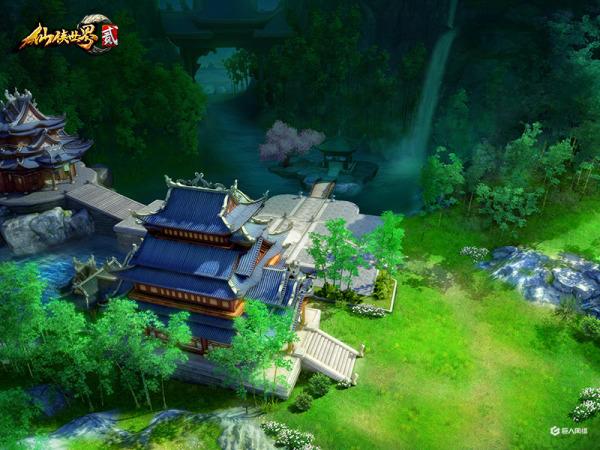《仙侠世界2》仙境预览