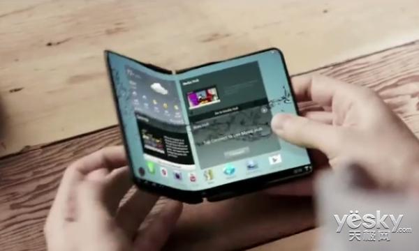 决定了?传三星明年推出可折叠手机Galaxy X