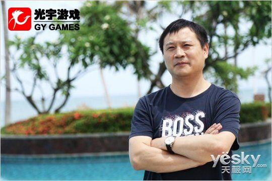 《问道》资料片公测 光宇副总裁朱平保专访