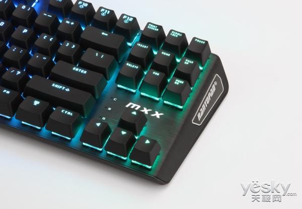 双层灯效 镭拓MXX RGB机械键盘双12正式开售