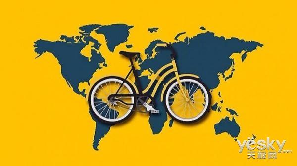 强力点赞!在硅谷也能骑中国的共享单车啦!