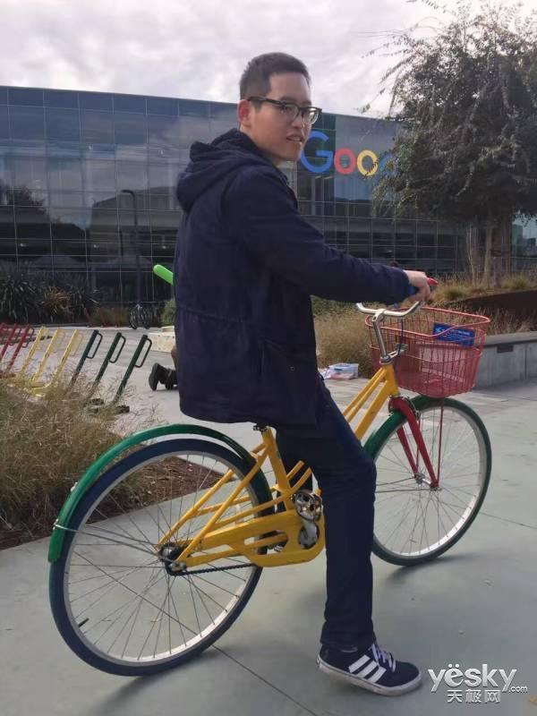 探秘谷歌:一个用自行车讲述情怀的老司机