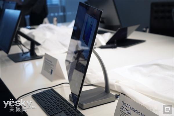 戴尔S2718D显示器将亮相CES:全球最薄27�伎�
