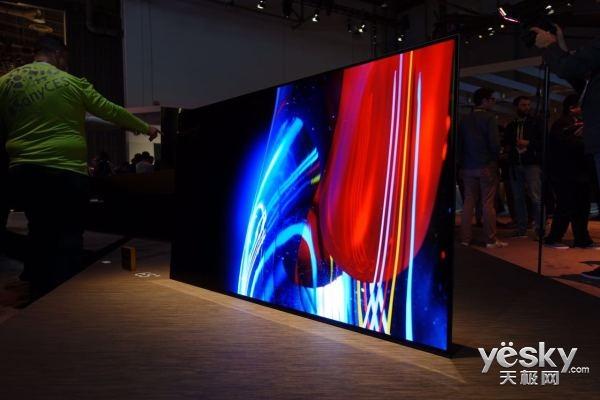 创新性索尼OLED电视A系列于美国CES展会发布