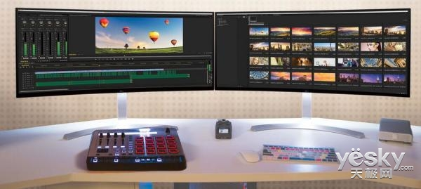 LG推全球最大21:9超宽显示器38UC99:三联屏
