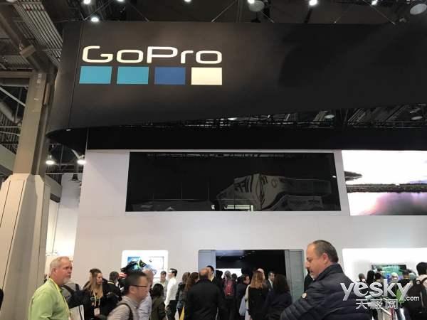 GoPro Hero5Session相机亮相CES:支持云存储