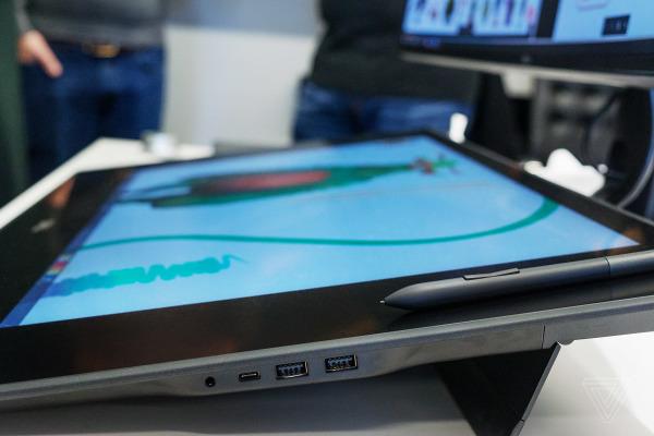 戴尔Canvas亮相CES 神似Surface Studio