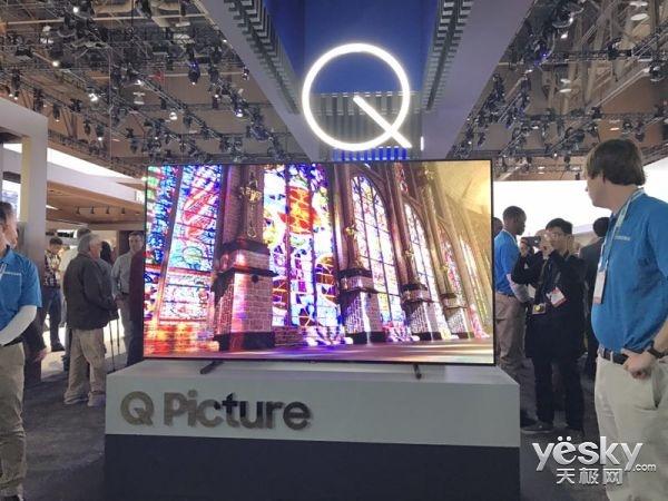 CES2017三星展台实拍:最美还是QLED TV