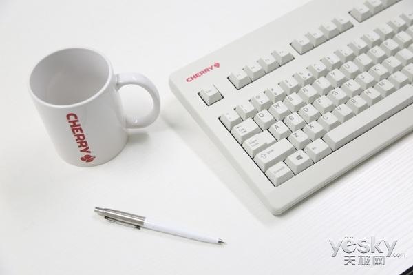 CHERRY CES发布G80-3494静音版键盘