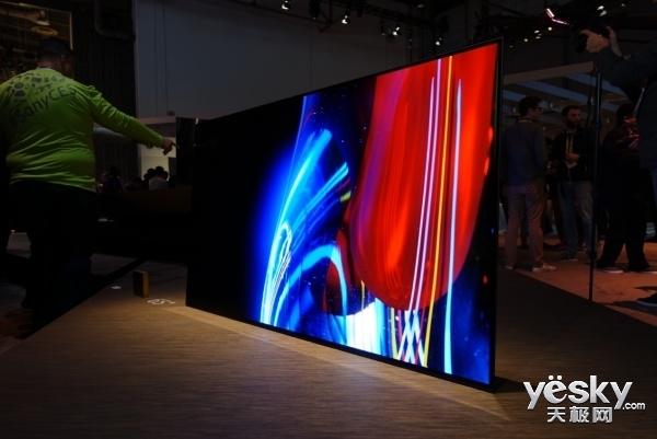 索尼黑科技:首款4K OLED电视支持屏幕发声