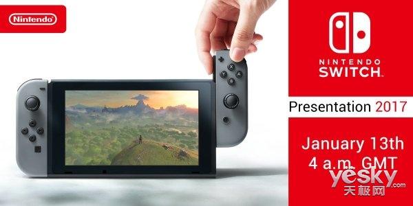 任天堂Switch首发游戏阵容曝光括:共15款