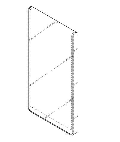 LG可折叠手机专利再曝光:非对折设计