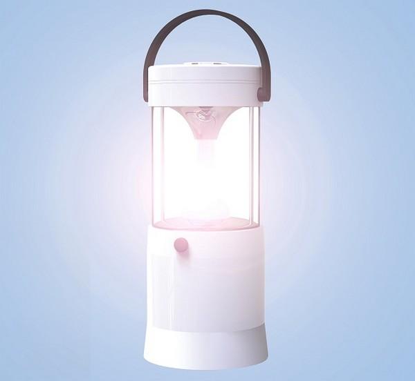 MIZUSION LED灯可存放10年只需加盐水即可