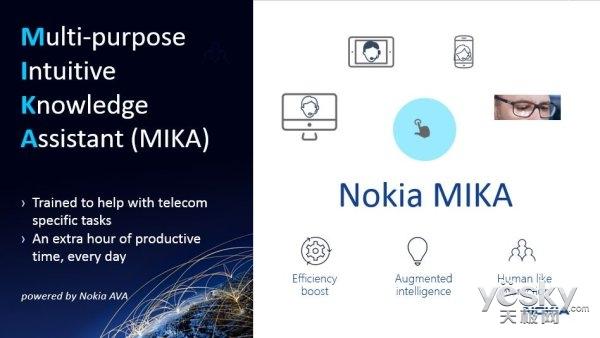 诺基亚发布语音助手MIKA:可回答工程师提问