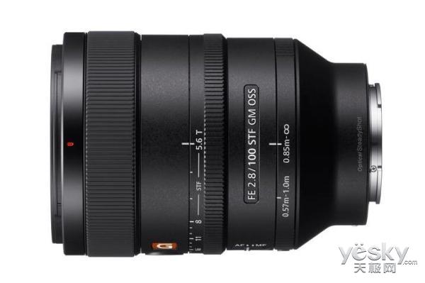 索尼推100mm F2.8 STF GMaster镜头 11999元