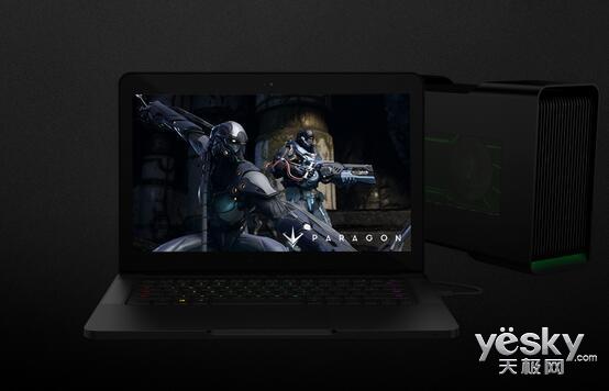 雷蛇Blade 14全新升级:4K触屏+七代酷睿i7