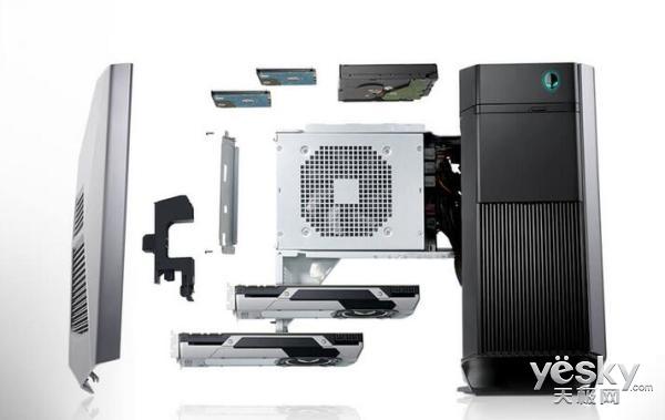 性能升级水冷散热 Alienware Aurora R6来袭