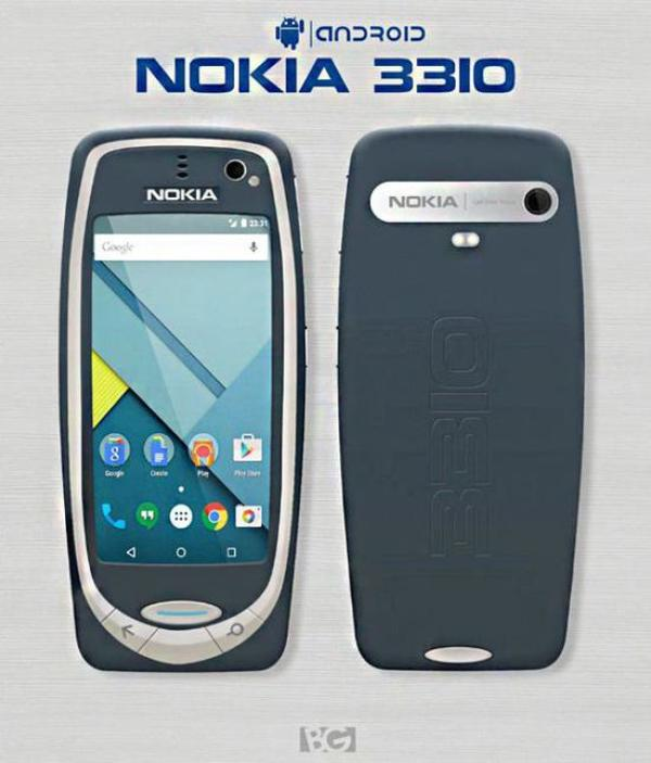 旧机换新颜 复刻版Nokia 3310概念图曝光