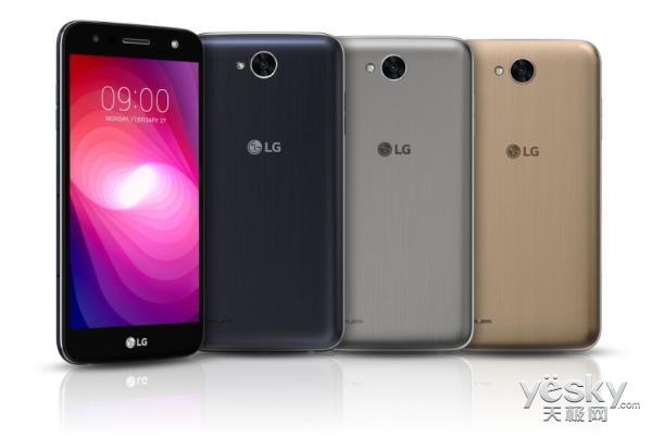 LG X power 2发布:电池容量达4500 mAh!