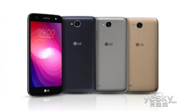 LG X Power 2手机发布 4500mAh电池/快充