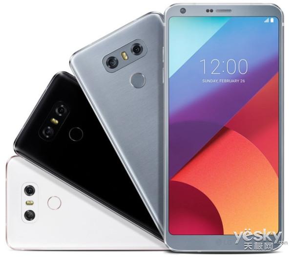 LG G6全新渲染图曝光:共有黑白灰三种配色