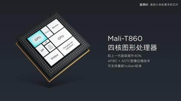 小米首款自研芯片澎湃S1发布 小米5c首发