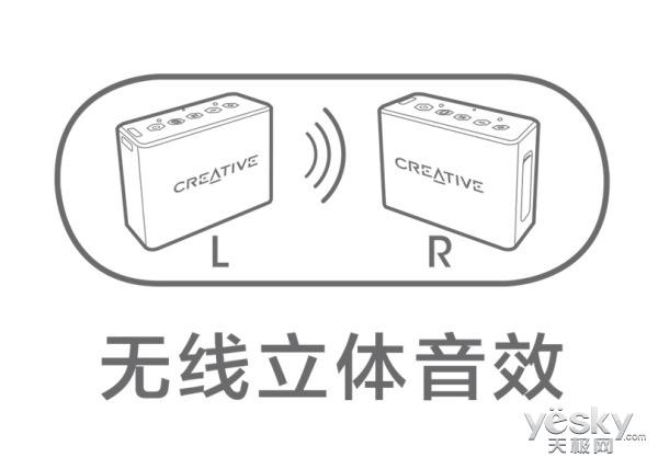 创新科技推出MUVO 2c防水迷你蓝牙音箱