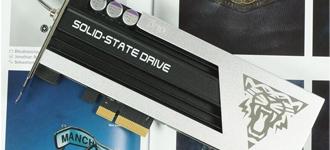 可变频的固态硬盘 金泰克天启G5 SSD图赏