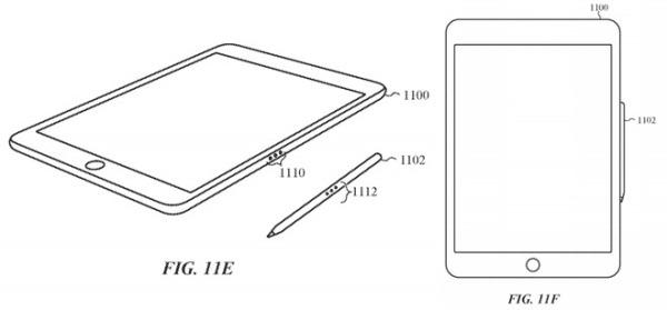 新款Apple Pencil可以吸附于iPad Pro充电