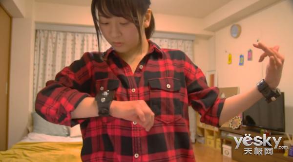 智能穿戴新概念:索尼融入舞蹈模拟演奏