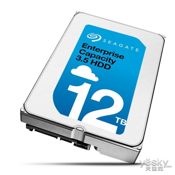 希捷发布下一代数据中心12TB企业级硬盘