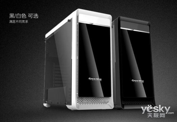 散热与光效兼顾 长城魔镜M-12电竞机箱热销