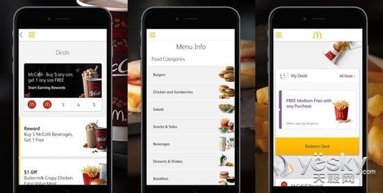 麦当劳下周将在美测试iPhone点餐 立等可取