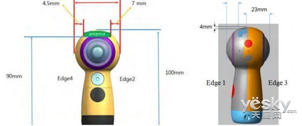 三星Gear 360二代通过FCC认证:手持式设计