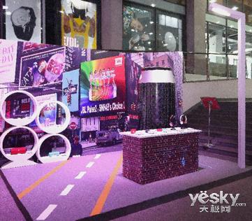 JBL和AKG携SNH48助力京东首届在线音乐盛典