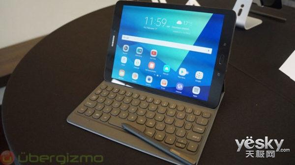 三星Galaxy Tab S3预约开启:599.99美元