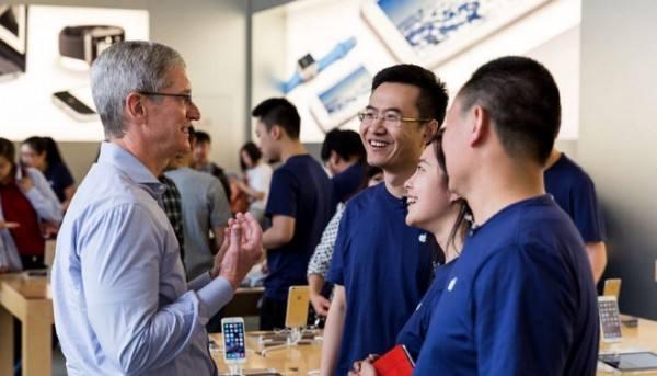 官方:苹果在中国创造了 480 万个工作岗位