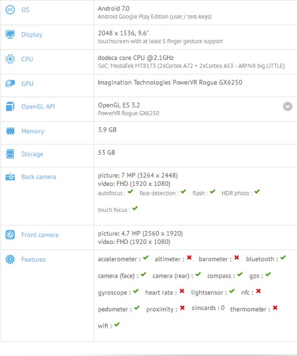 华硕Android 7.0平板曝光 配备高分屏