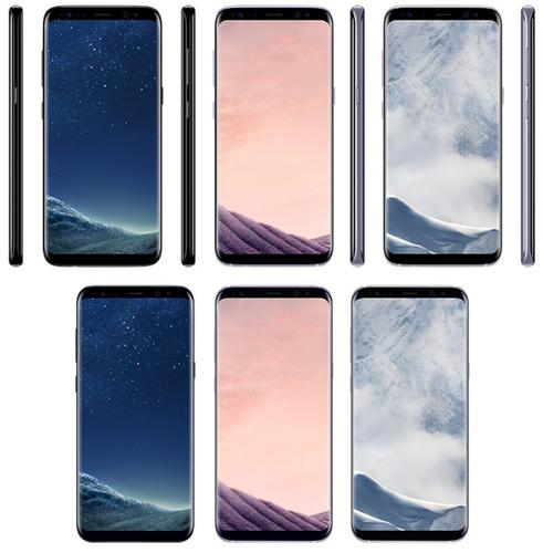 三星Galaxy S8三色曝光 799欧元起售
