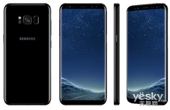 美哭了!三星Galaxy S8官方渲染图:Bixby按键