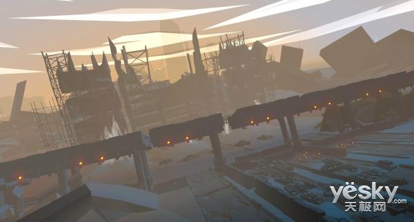 音乐射击游戏《Aaero》最新游戏画面