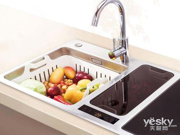 塑造理想的厨房生活 方太Q6三槽分立洗碗机