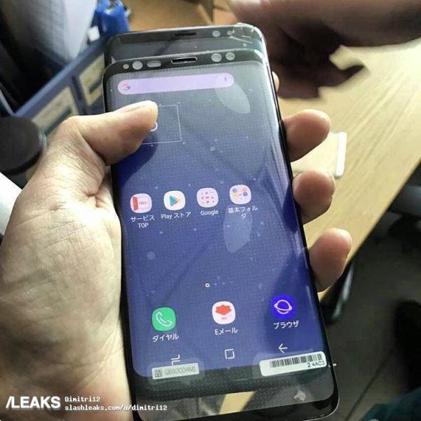 三星S8搜索热度超iPhone8 最后一波谍照来袭