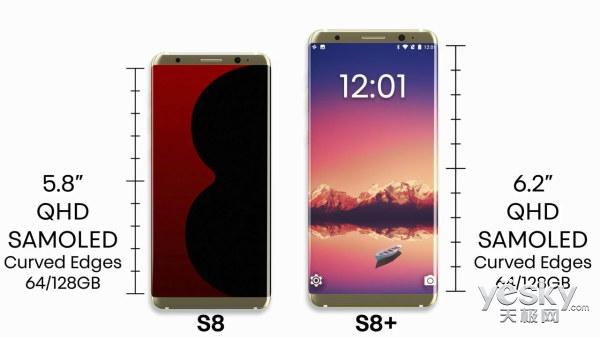 厉害了你三星Galaxy S8 虹膜和指纹选哪个?