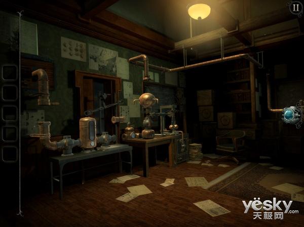 解谜新作《未上锁的房间:旧罪》截图曝光