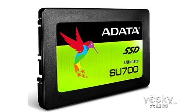 采用了Maxiotek主控 威刚发布SU700固态硬盘