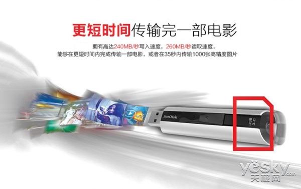 至尊极速 闪迪CZ88 USB3.0售价569元